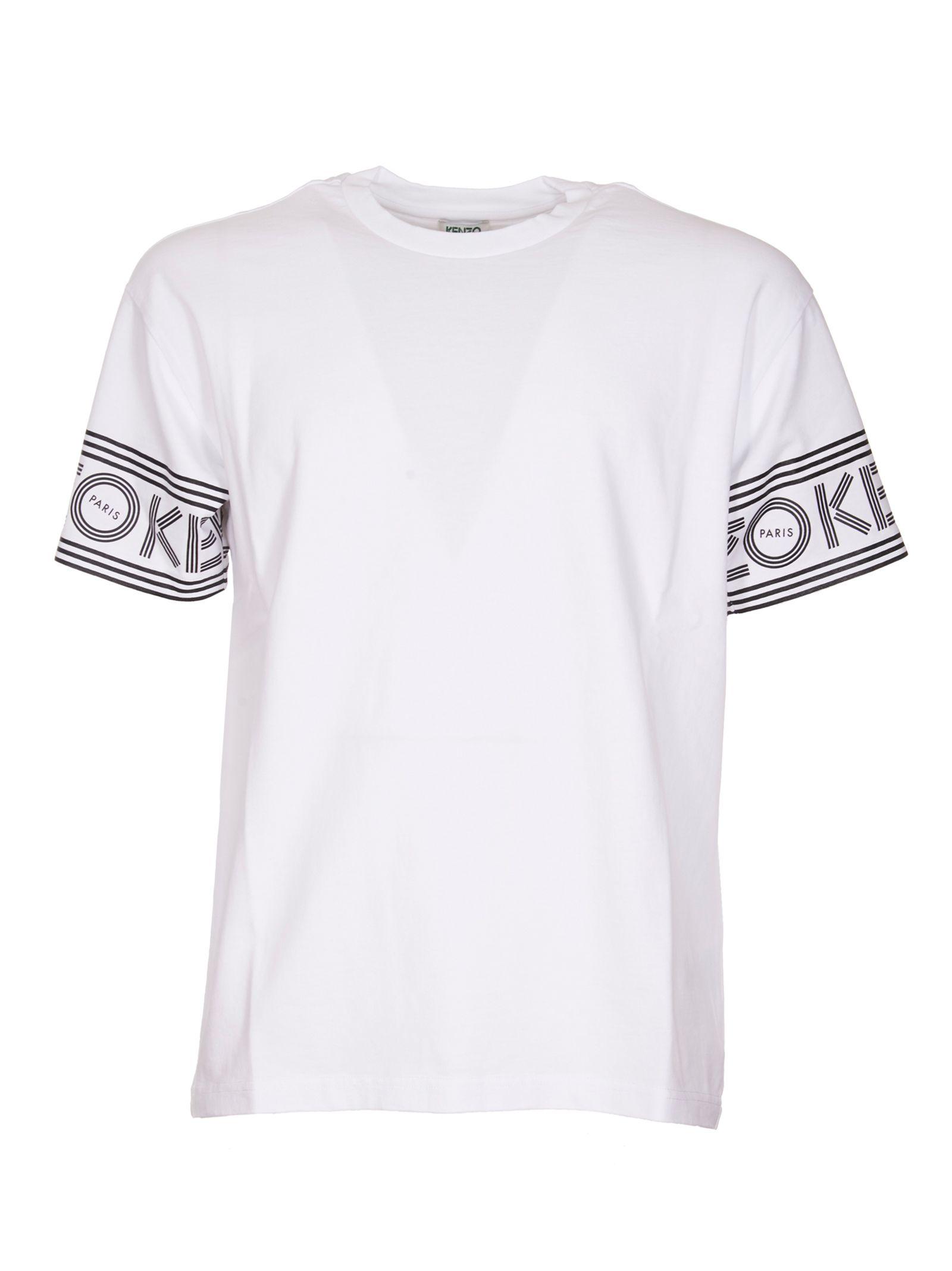 Kenzo Logo In Sleeve T-shirt