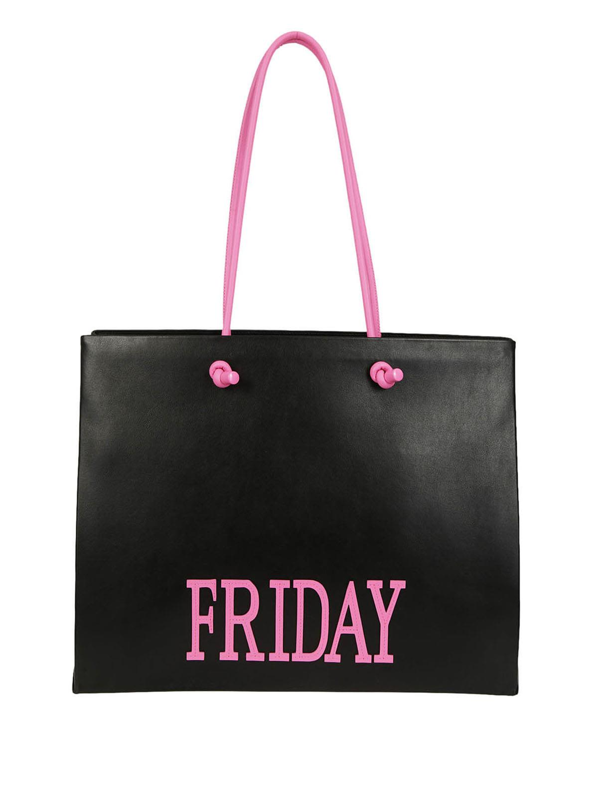 Alberta Ferretti Large Friday Tote
