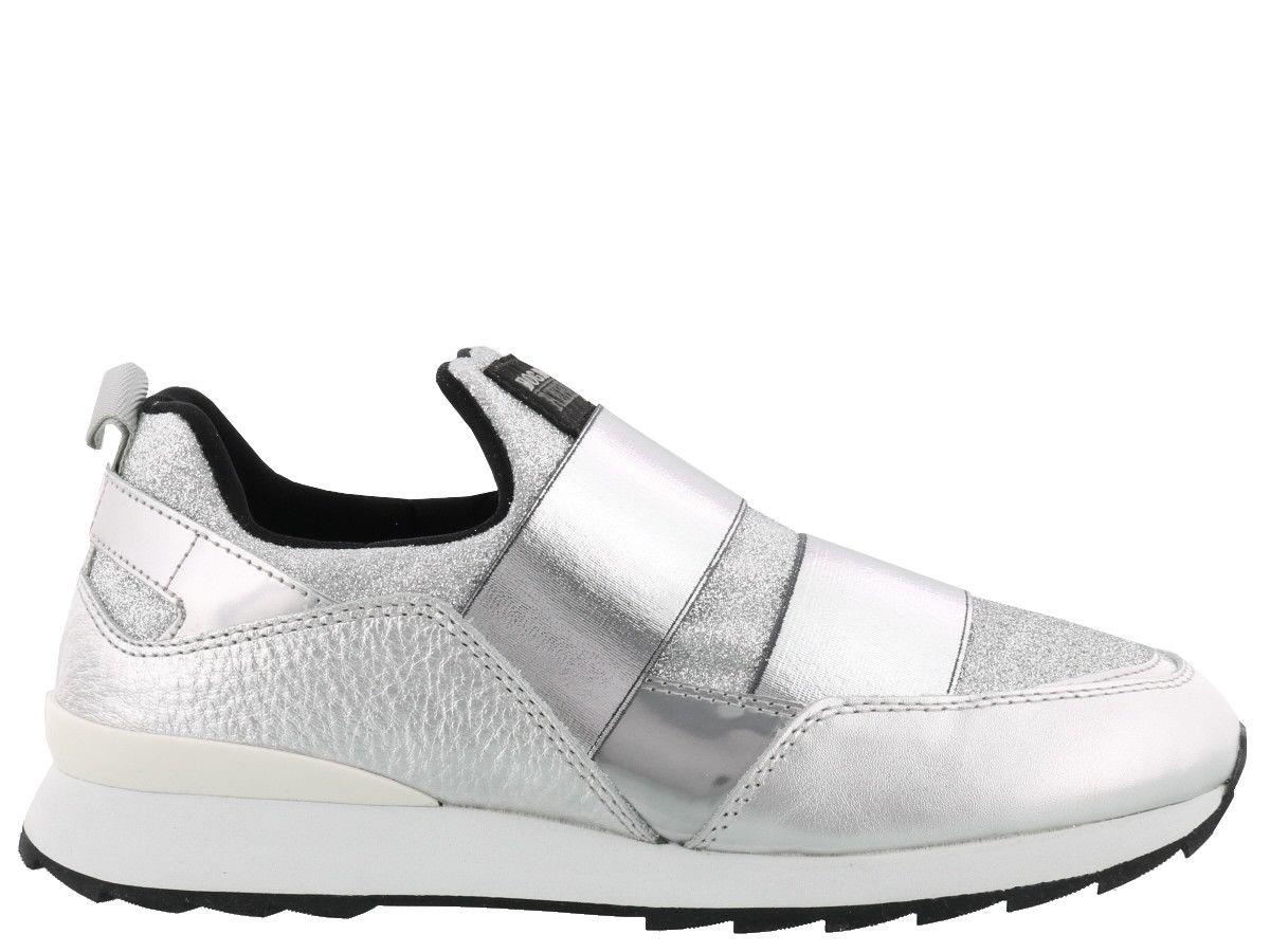 Hogan Rebel R261 Sneakers In Silver  564e37043d3