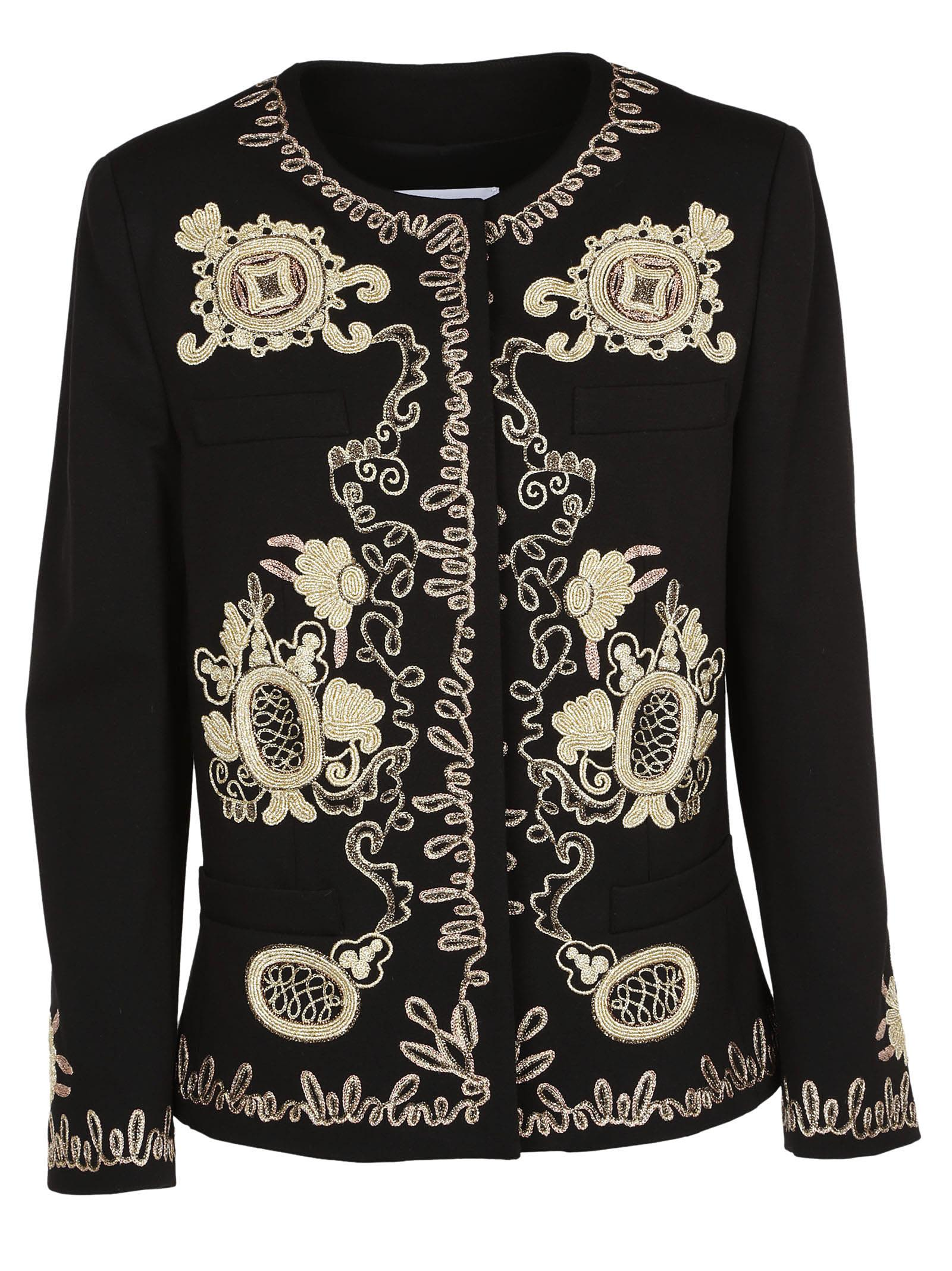 Dondup Metallic Embroidered Jacket