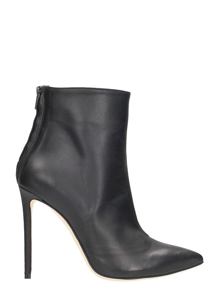 Marc Ellis Black Leather Stiletto Heel
