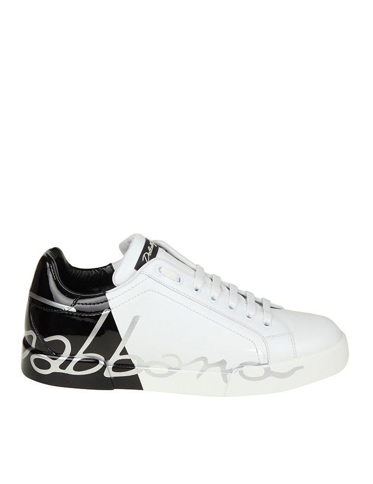 Dolce & Gabbana Sneakers With Heel Logo