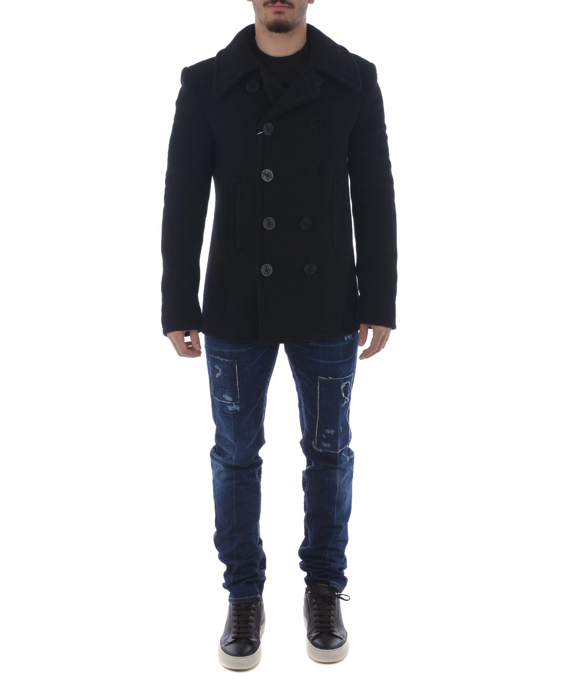 Maison Margiela Classic Fitted Coat