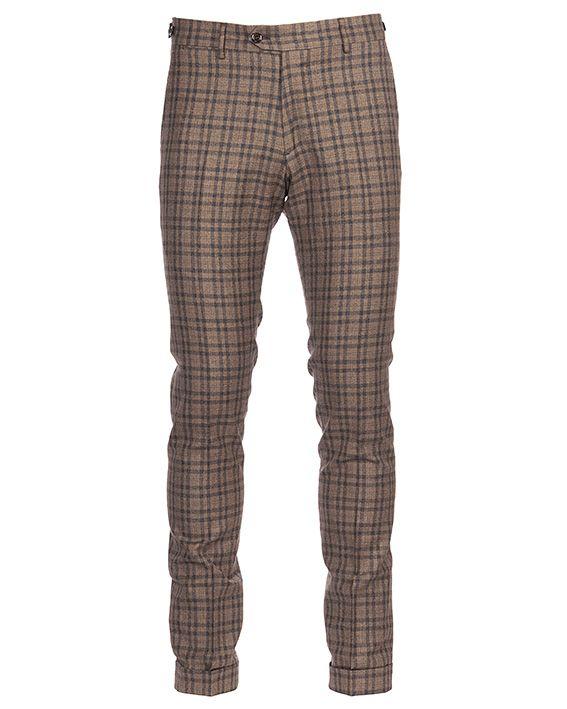 Berwich Sc Elegant-mz2115 Woolen Trousers