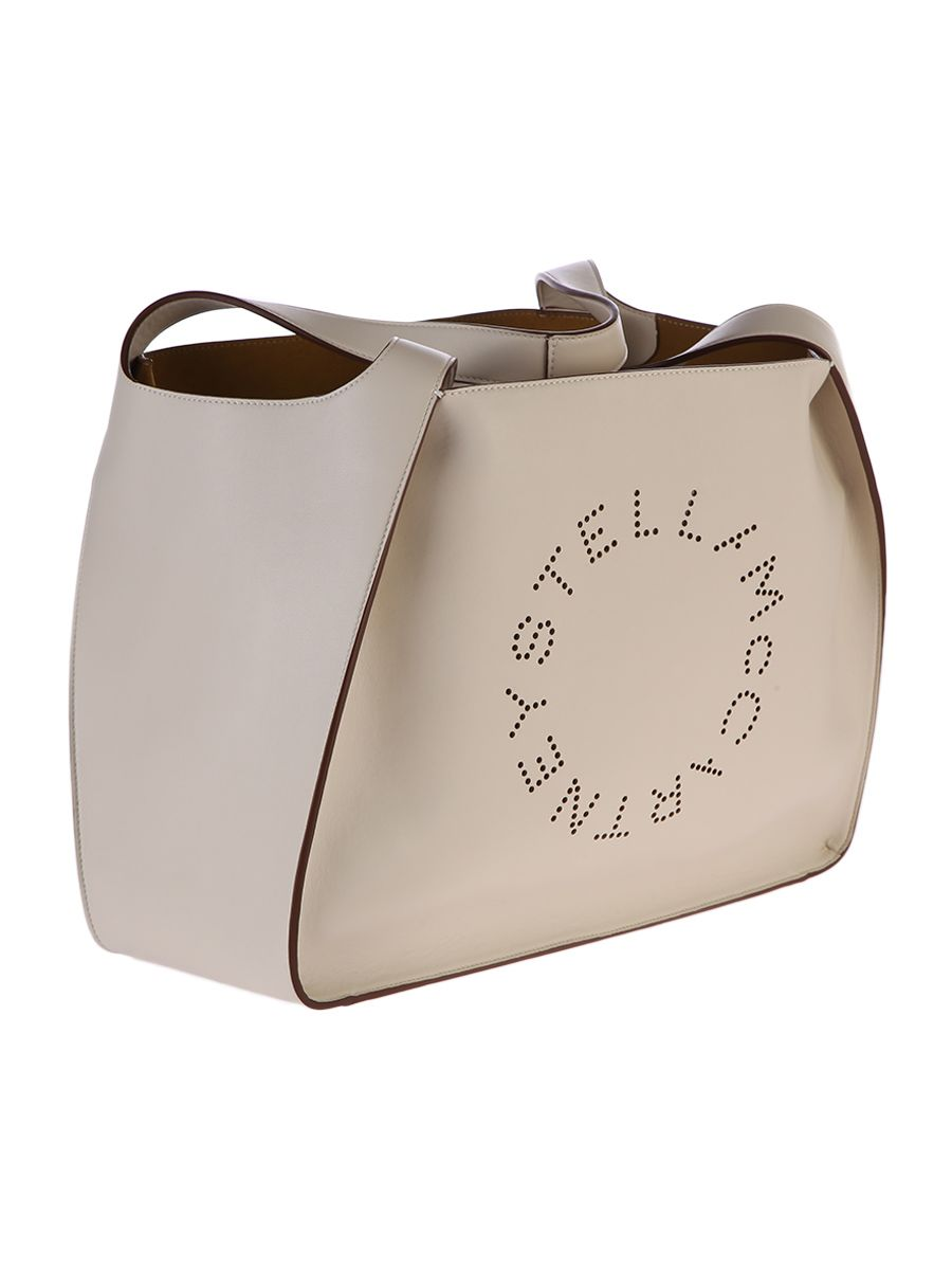 Stella Mccartney  PERFORATED FAUX LEATHER TOTE BAG