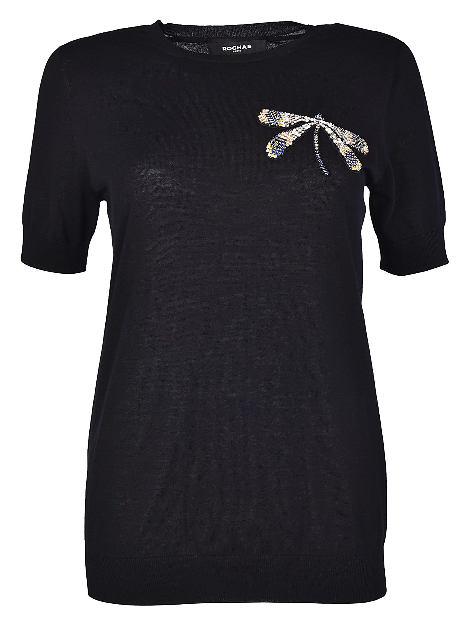 Rochas Embellished T-shirt