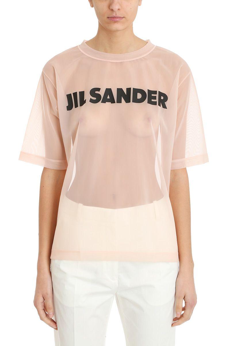 Jil Sander Logo Patch T-shirt