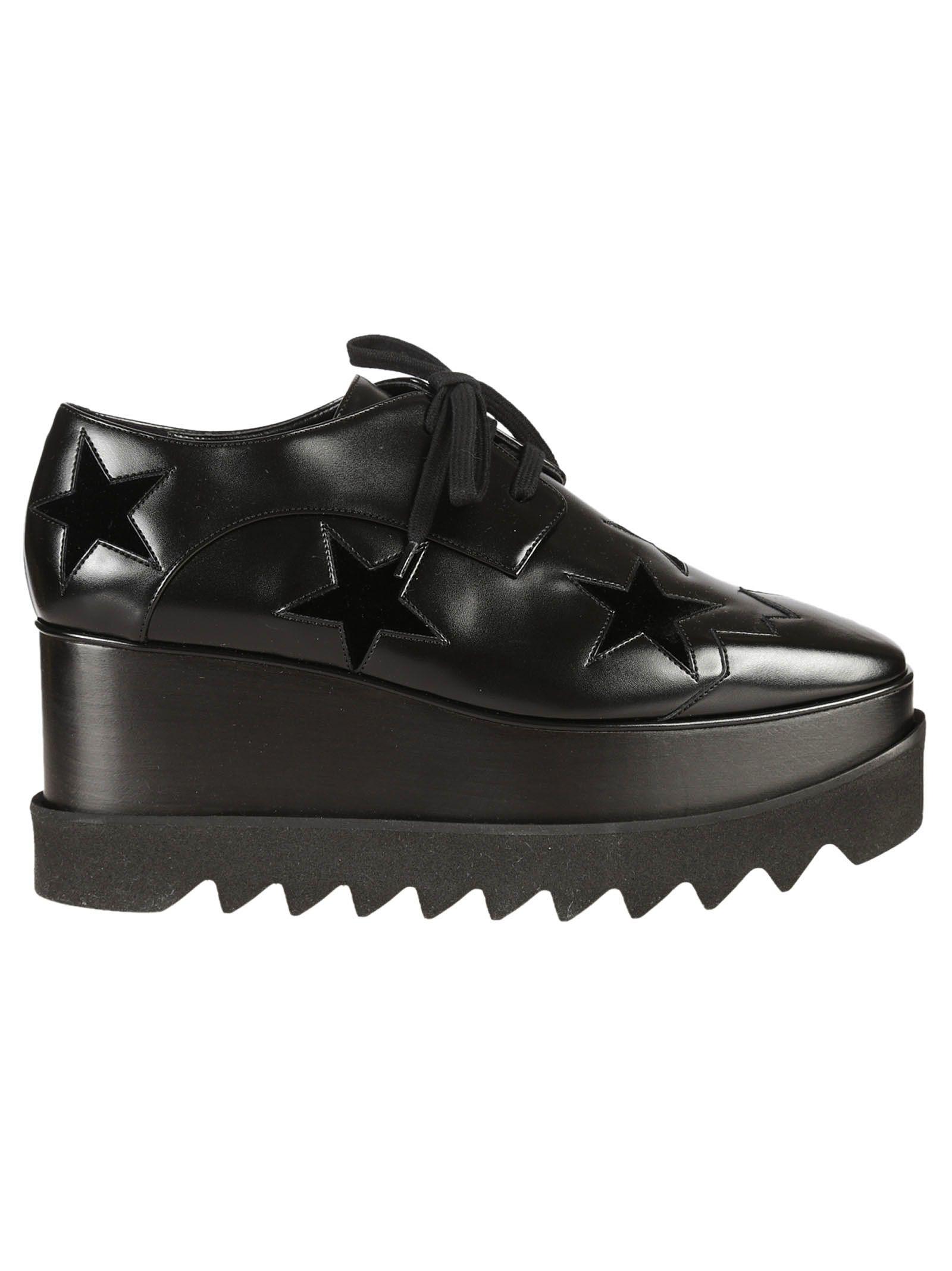 Stella McCartney Star Elyse Platform Lace-up Shoes