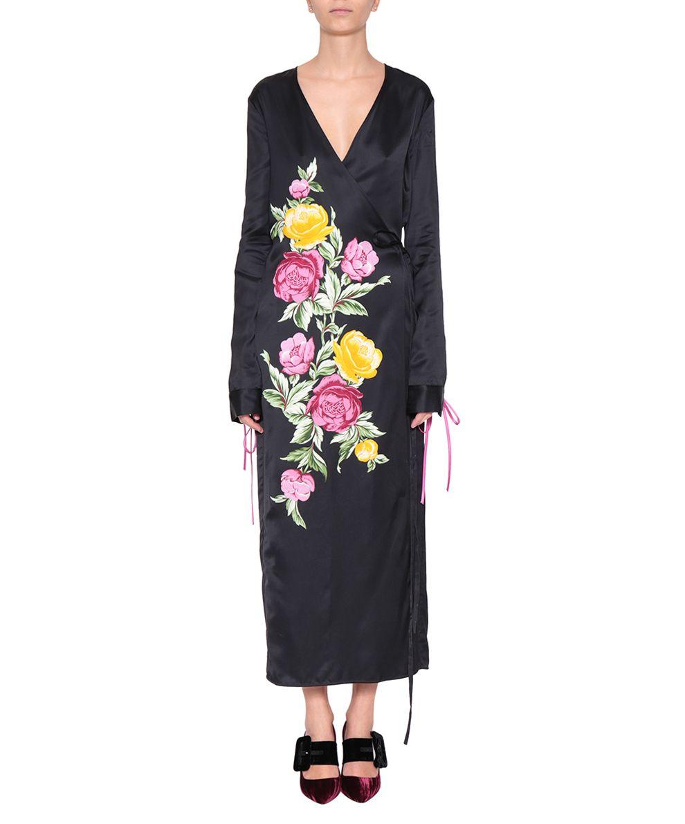 ATTICO Grace Satin Dress