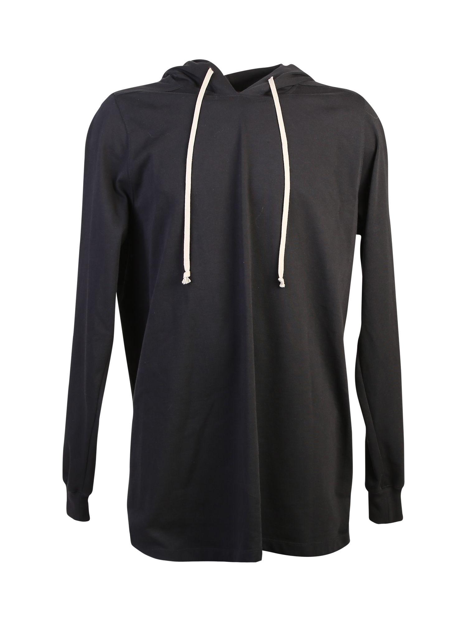 Cotton Hood Sweatshirt