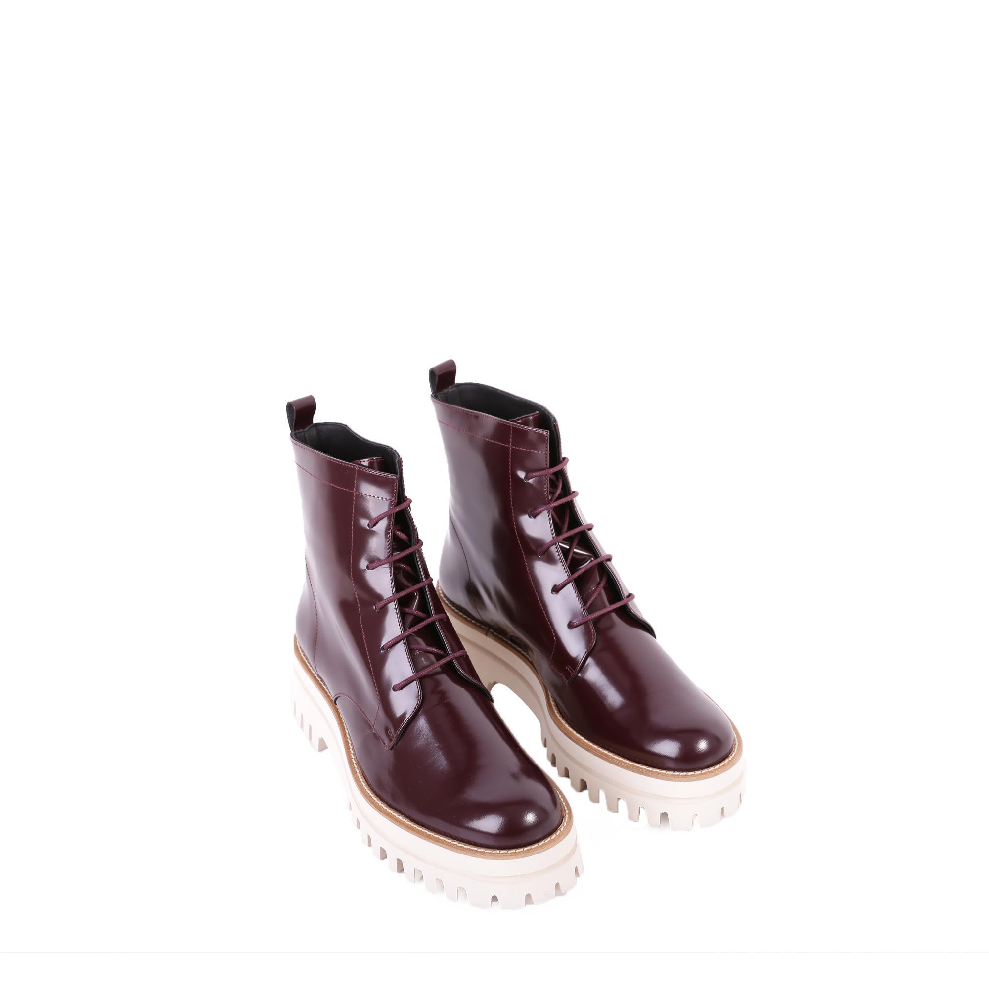 Paloma Barcelò Niger Cayman Leather Boots