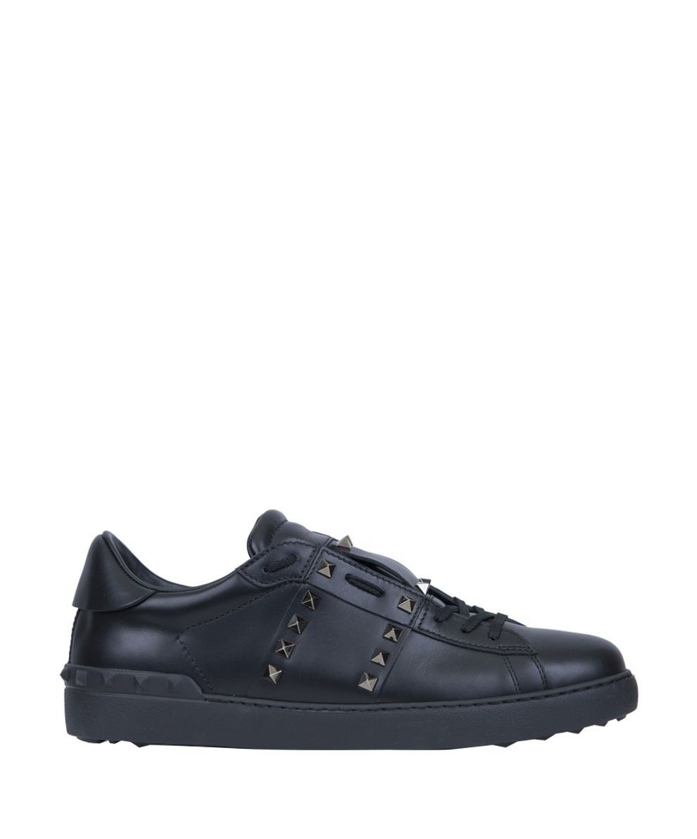 Valentino Garavani Open Untitled Leather Sneakers