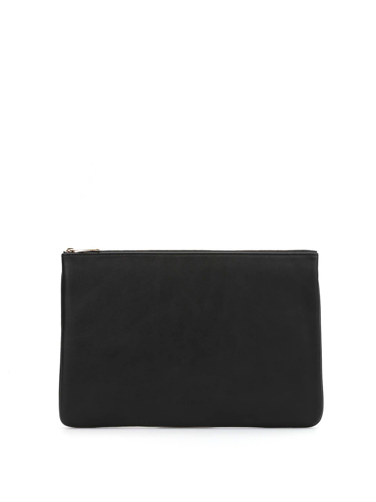Pochette Handbag In Suede