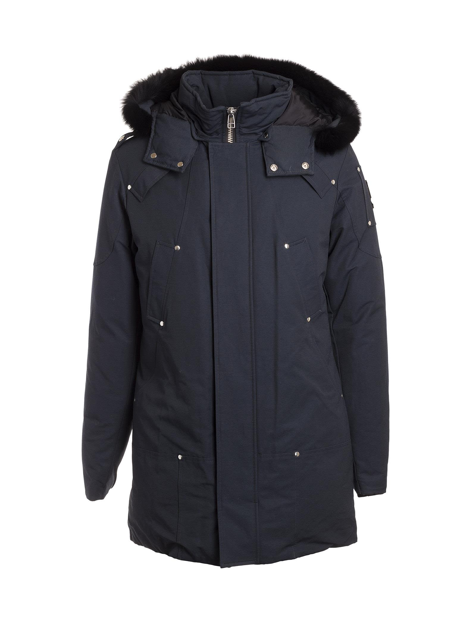 Moose Knuckle Zipped Cuffs Parka