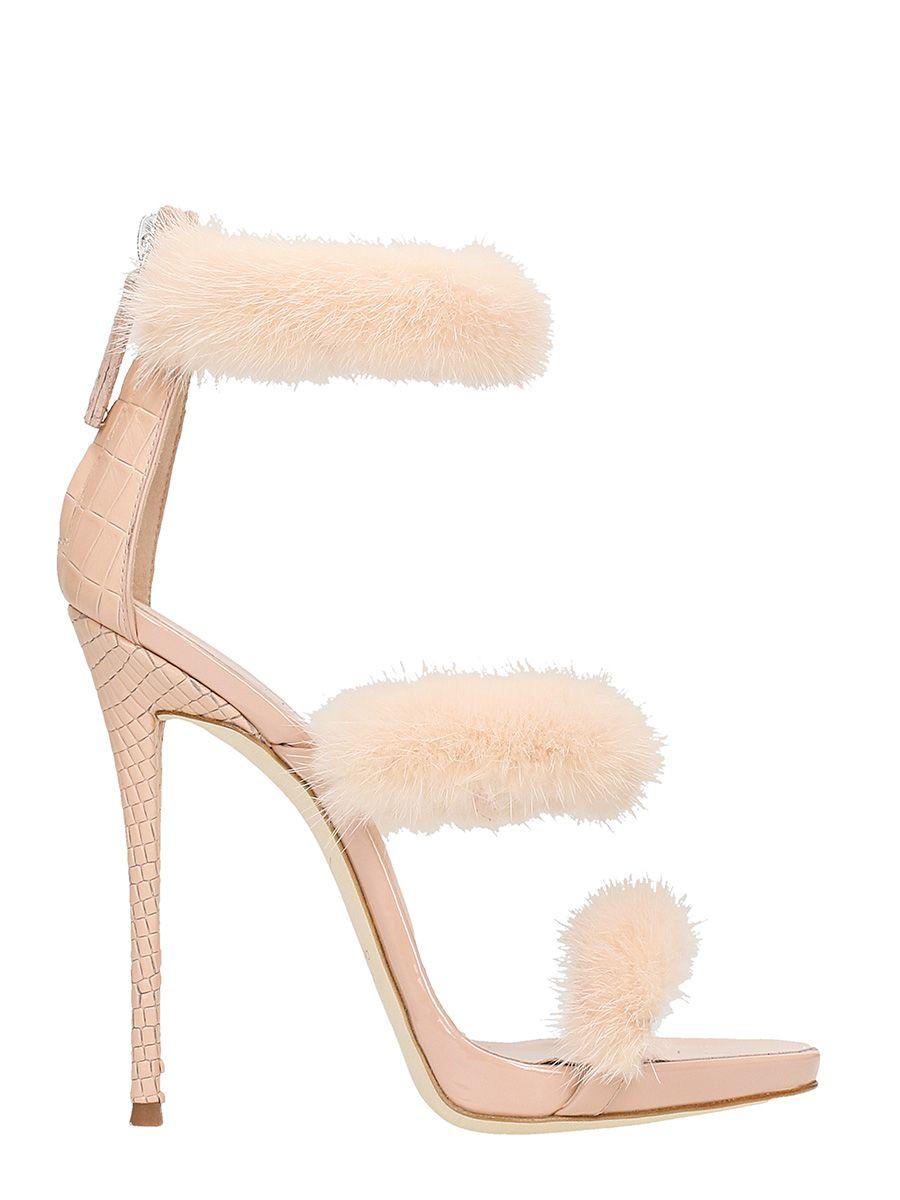 Giuseppe Zanotti Harmony Winter Pink Sandals