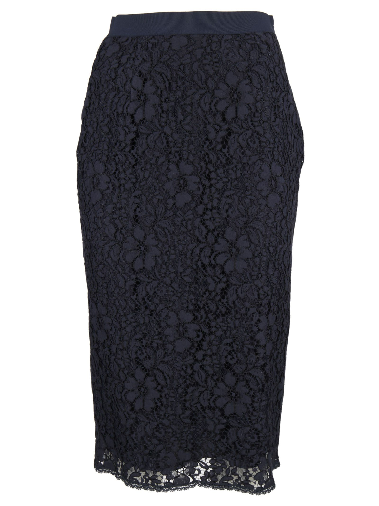 Ermanno Ermanno Scervino Flower Embroidery Skirt