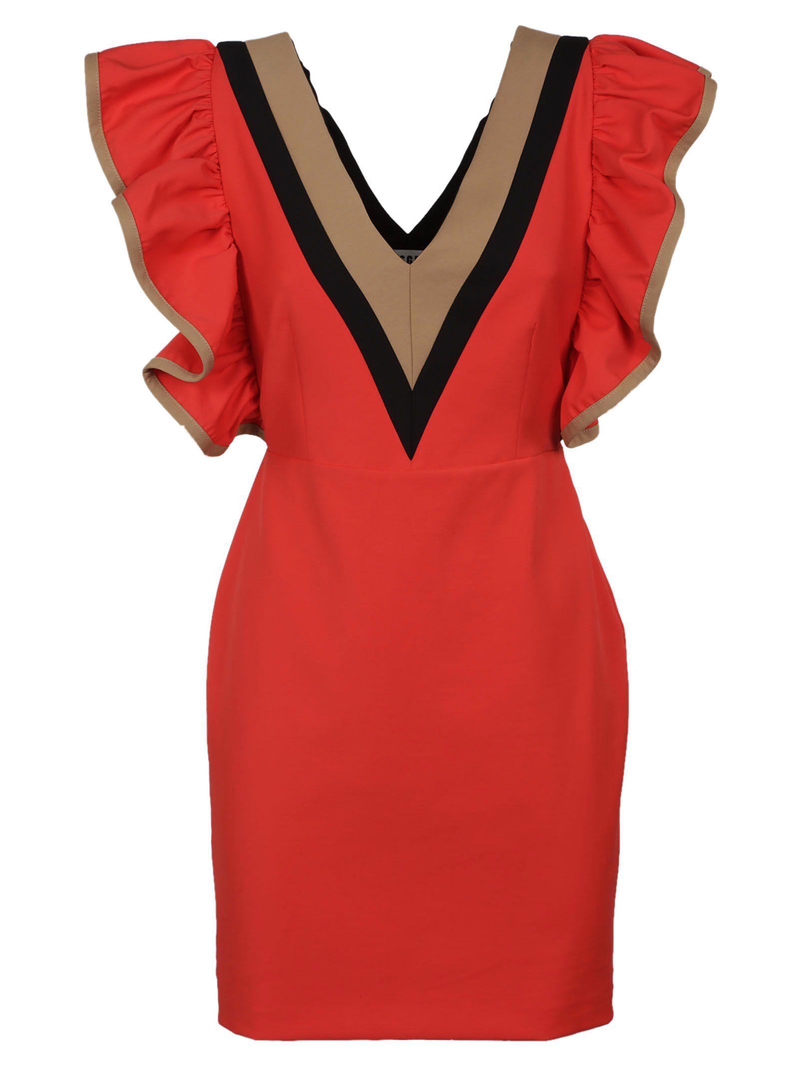 Msgm Frill Dress