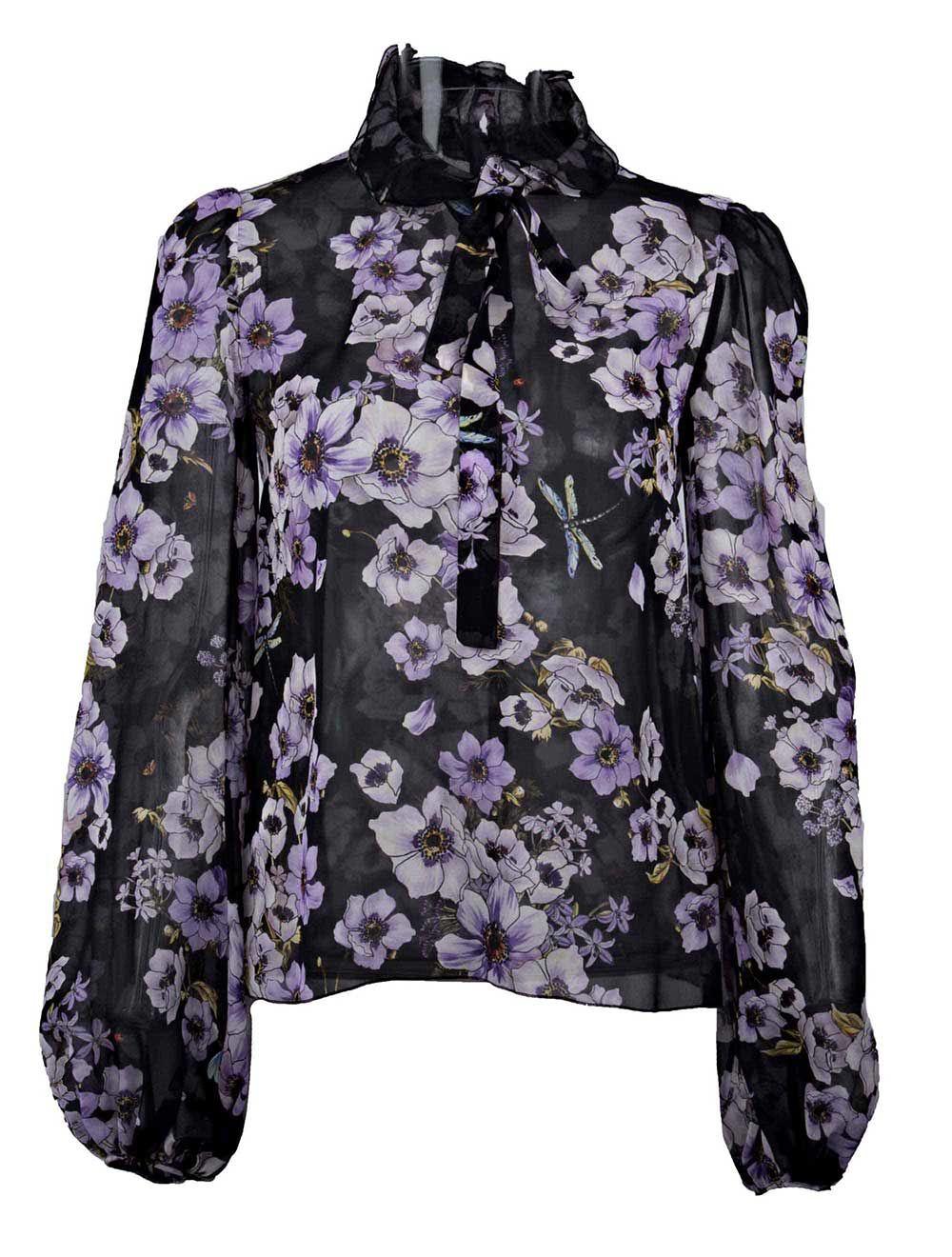 Giambattista Valli Floral Shirt