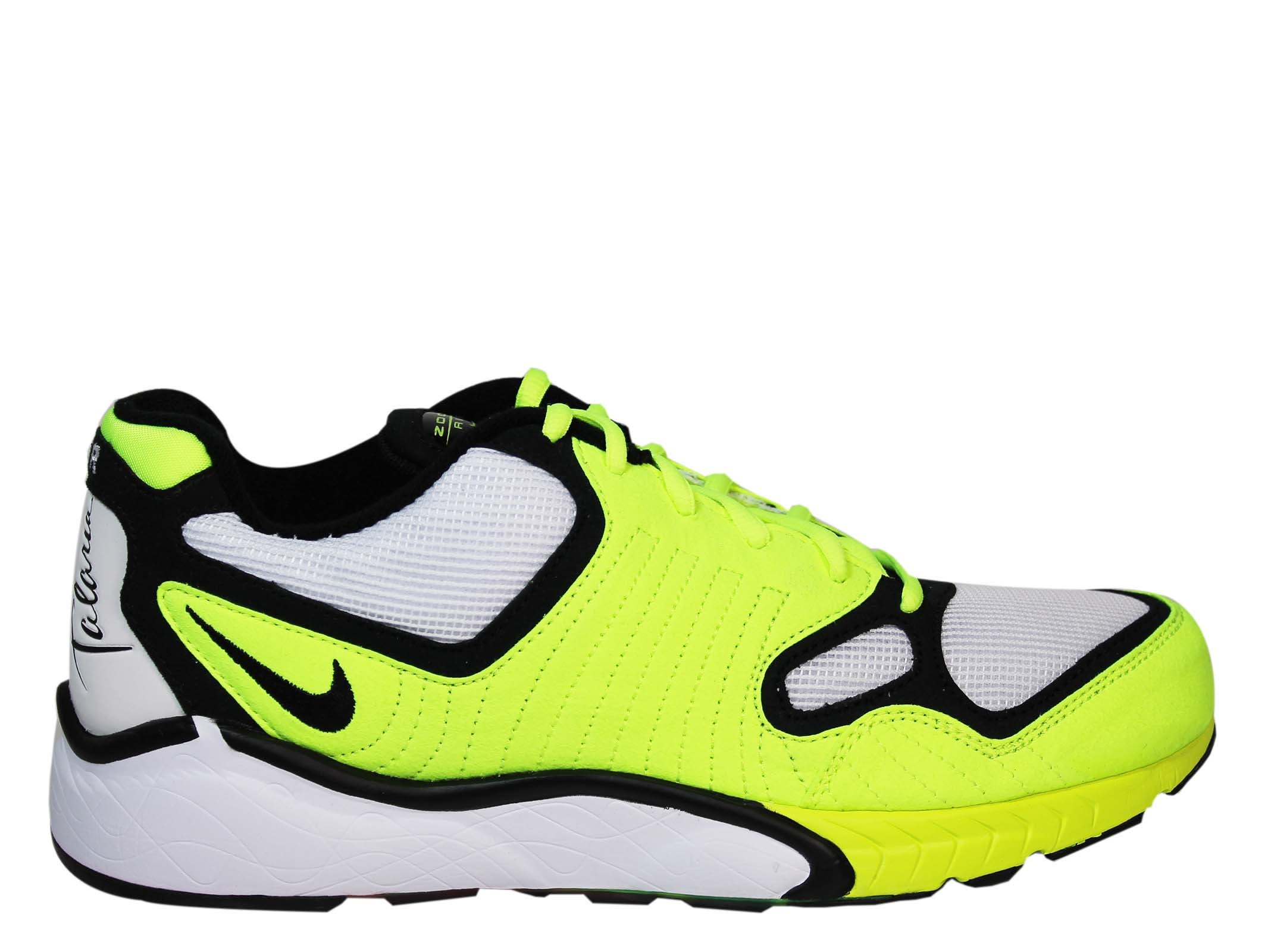 Nike White Fluo Air Zoom Sneakers