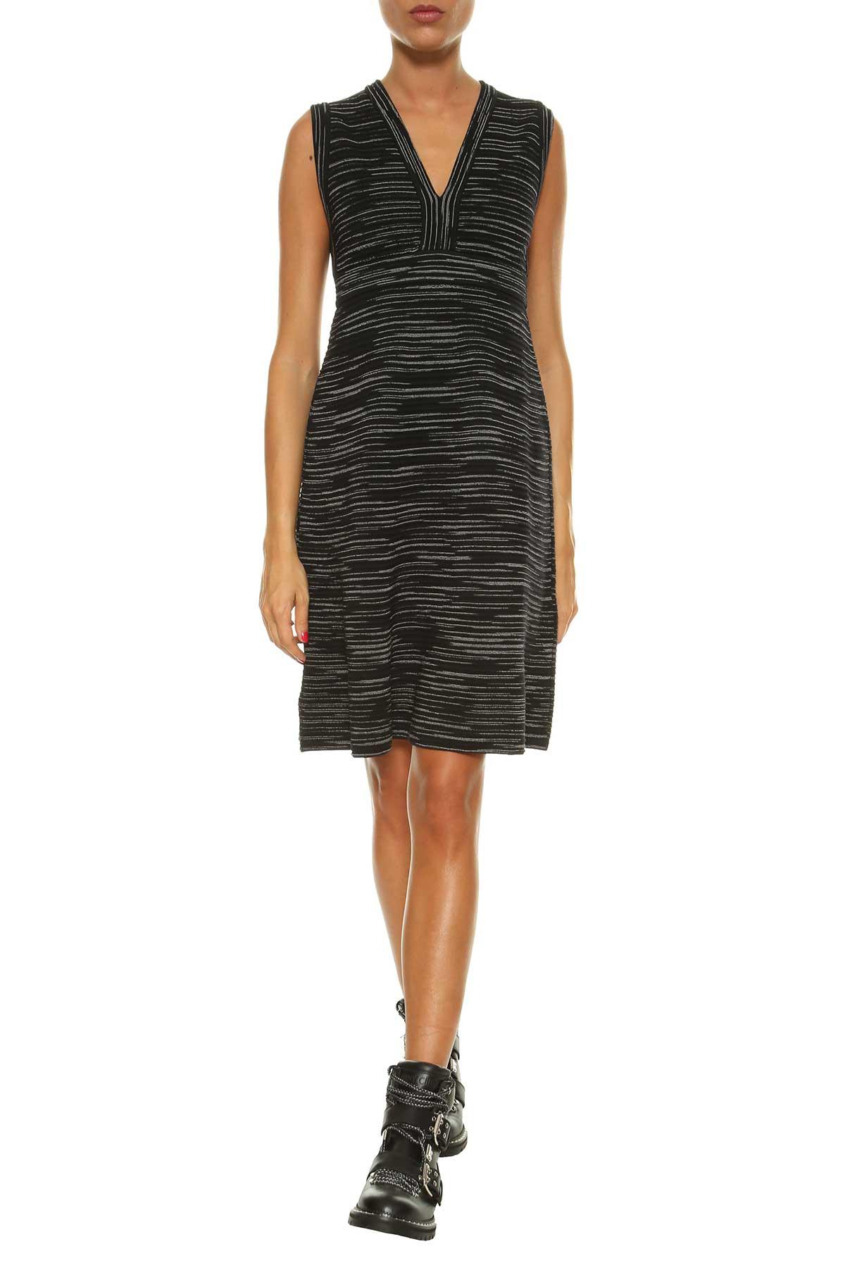 M Missoni Heavy Jersey Short Dress