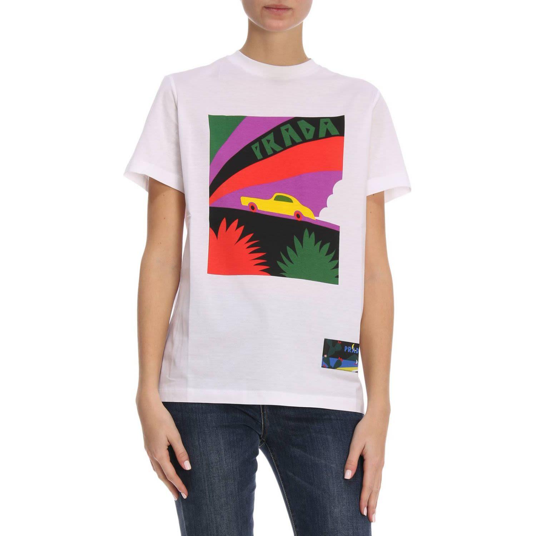 T-shirt T-shirt Women Prada