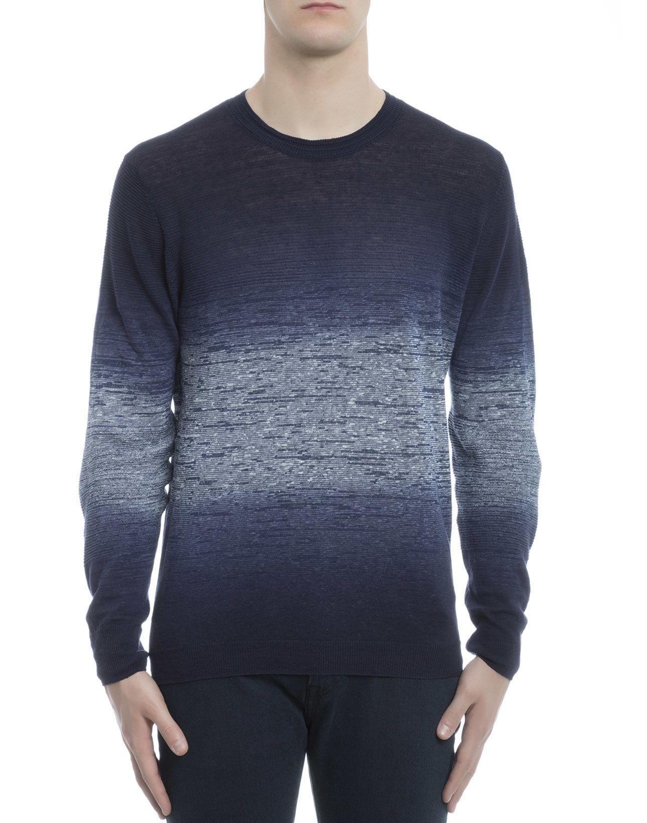 Blue Cotton Knitwear