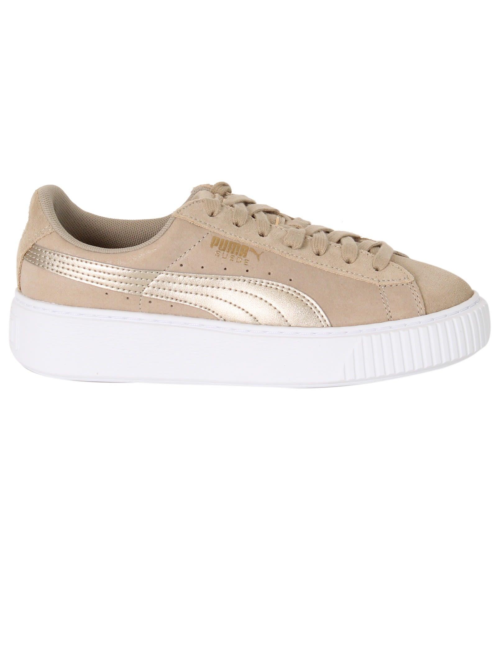 Puma Safari Suede Platform Sneakers