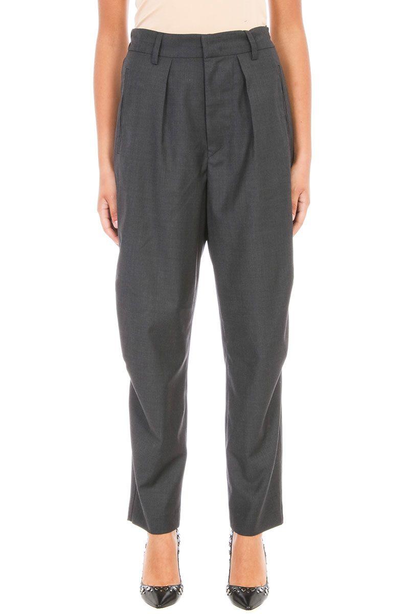 Isabel Marant Etoile Nimura Wool Trousers