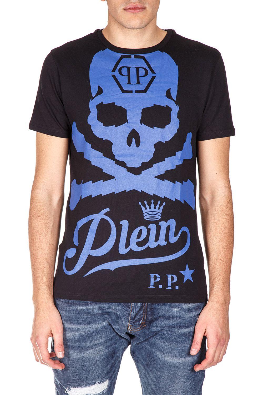 Philipp Plein Skull & Bones Cotton T-shirt