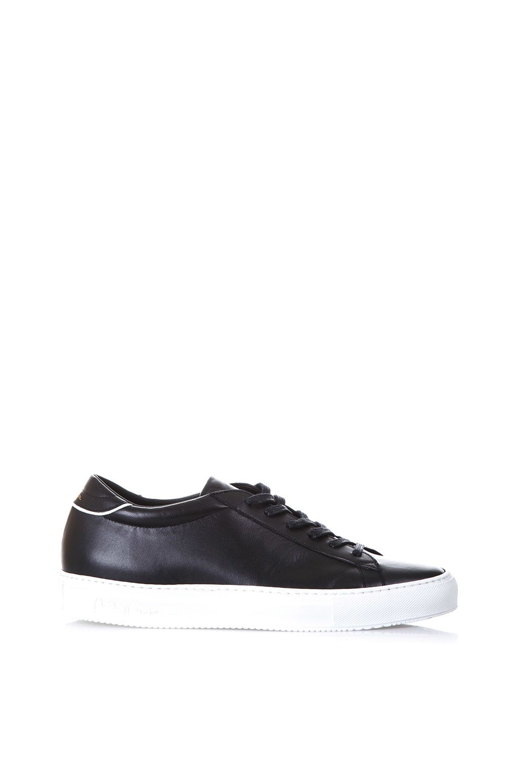 Philippe Model Avenir Brushed Leather Low-top Sneakers