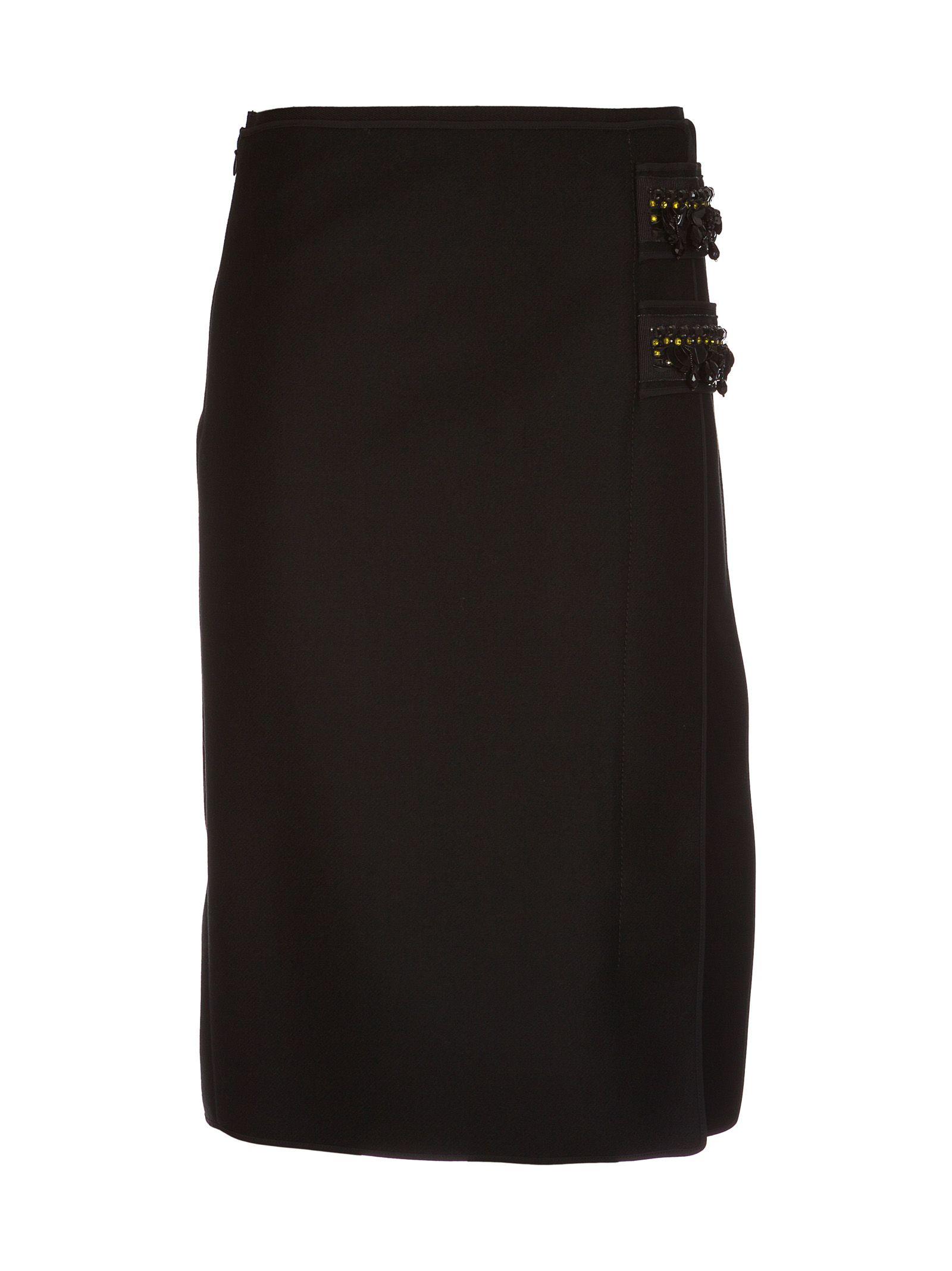 N.21 No21 Embellished Pencil Skirt