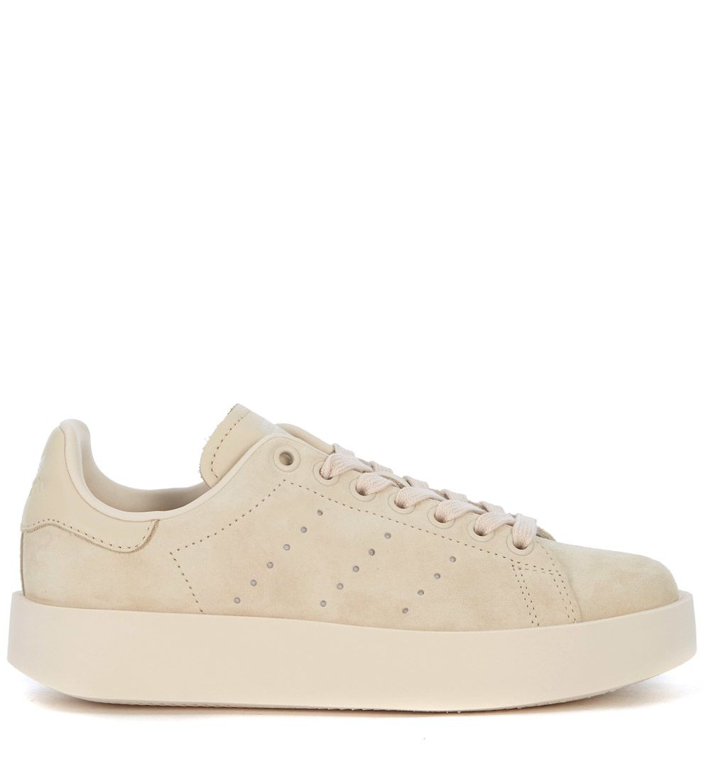 newest 43cea 43880 Adidas Originals Stan Smith Pale Pink Suede Sneaker In Rosa