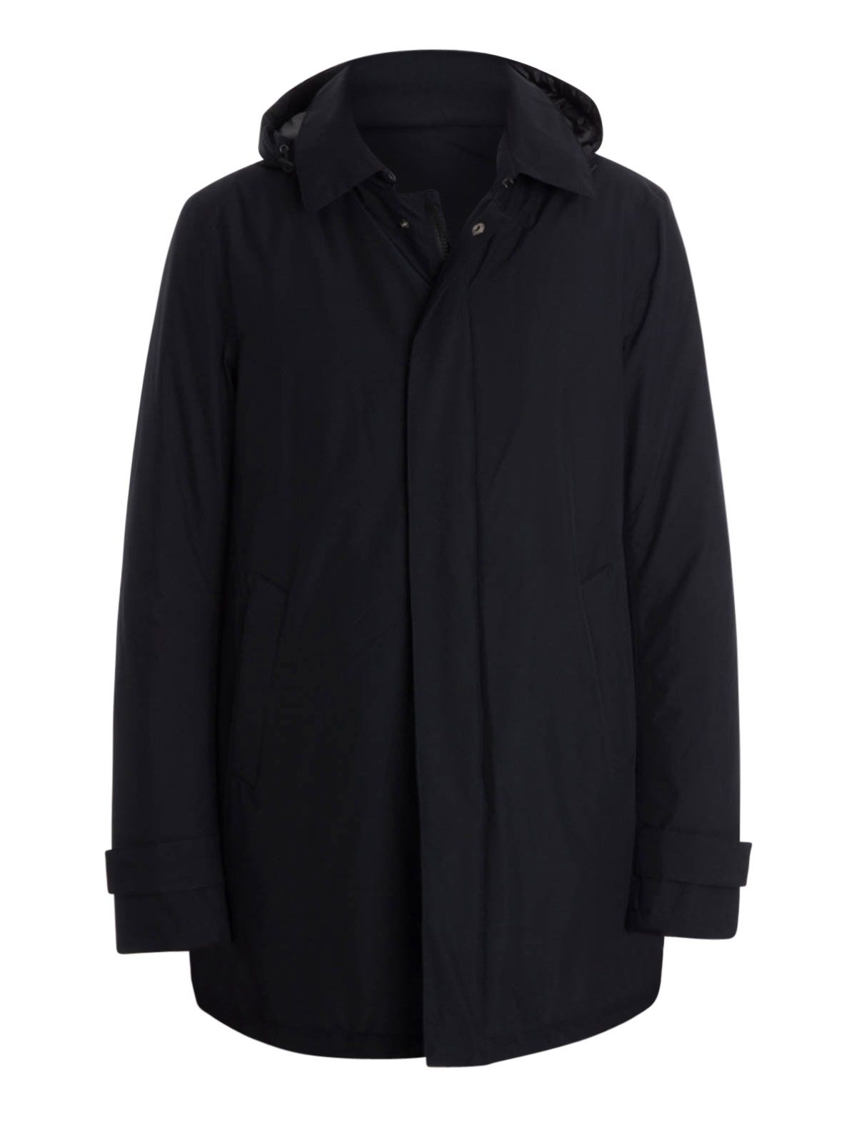 Herno Laminar Hooded Coat