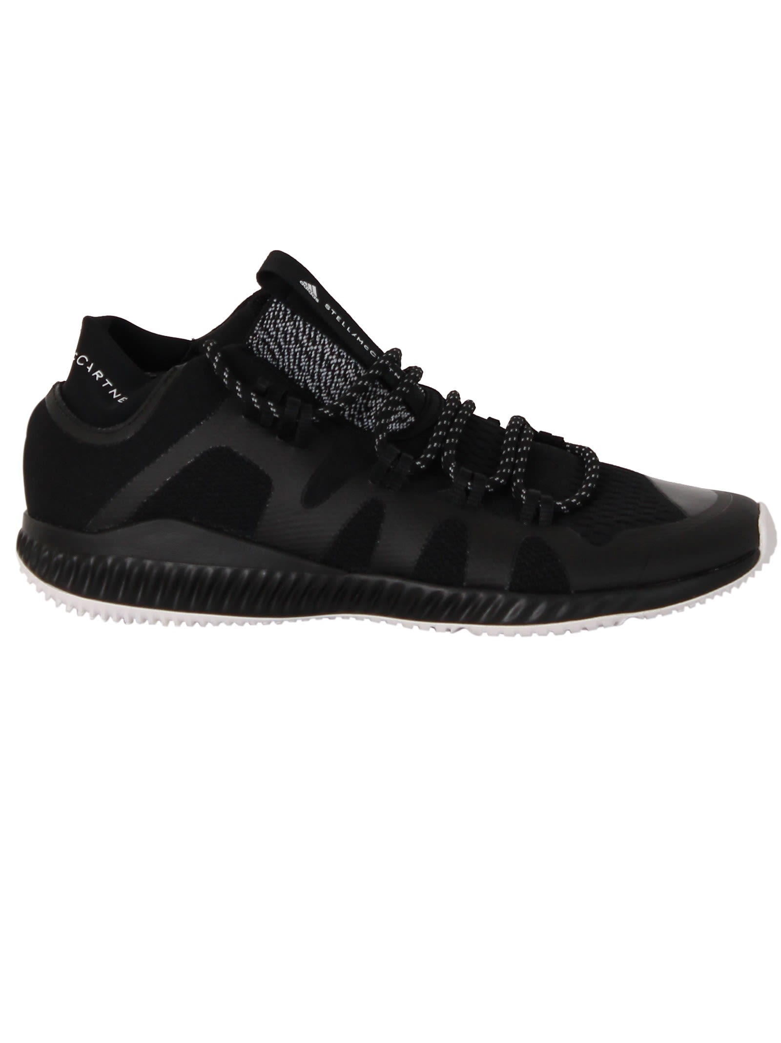 Adidas by Stella McCartney Black Crazy Train Low Sneakers