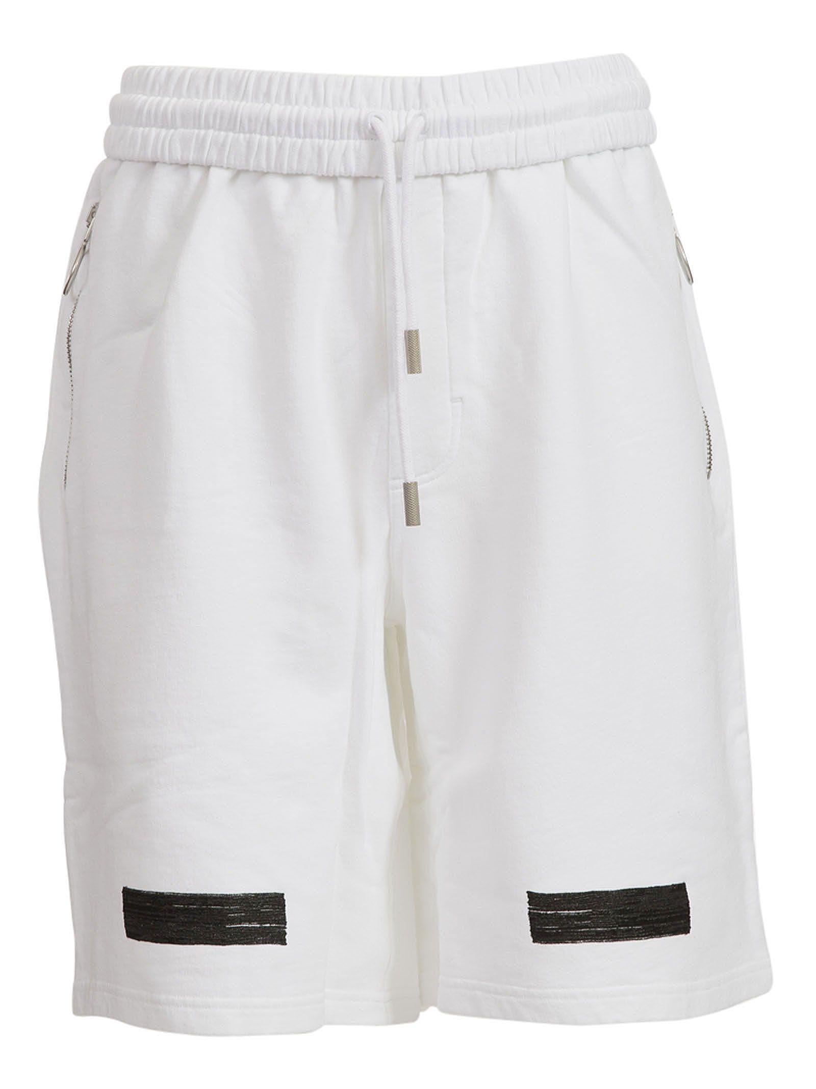 Off-white Diagonal Shorts