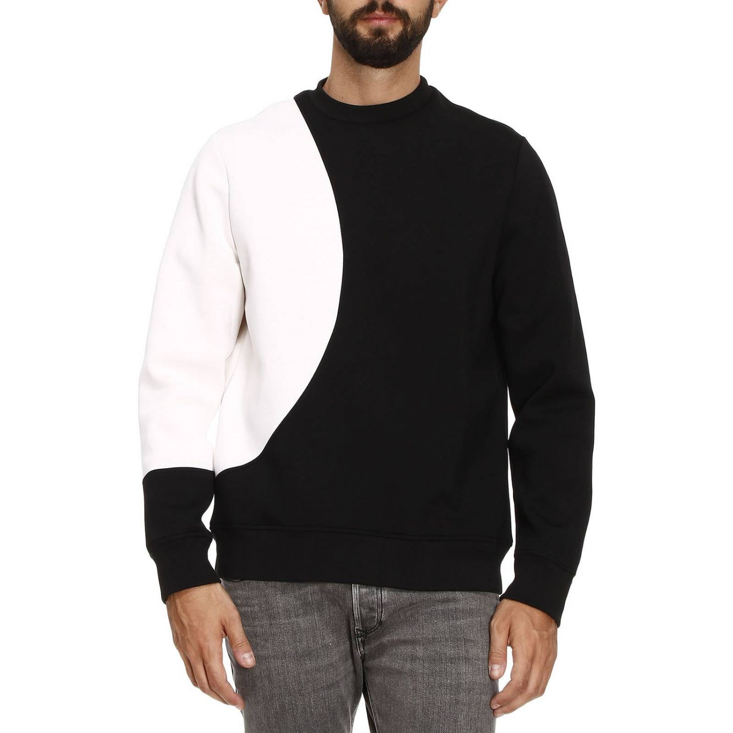 Sweatshirt Sweater Men Diesel Black Gold