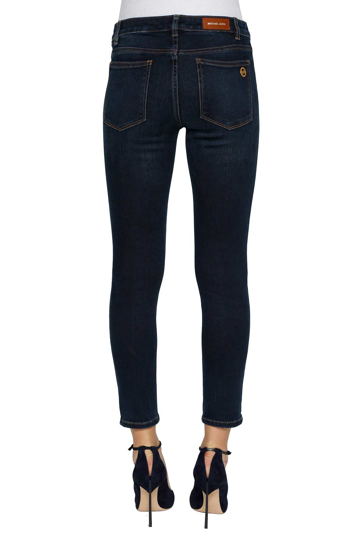 michael michael kors michael michael kors skinny jeans midnight women 39 s jeans italist. Black Bedroom Furniture Sets. Home Design Ideas