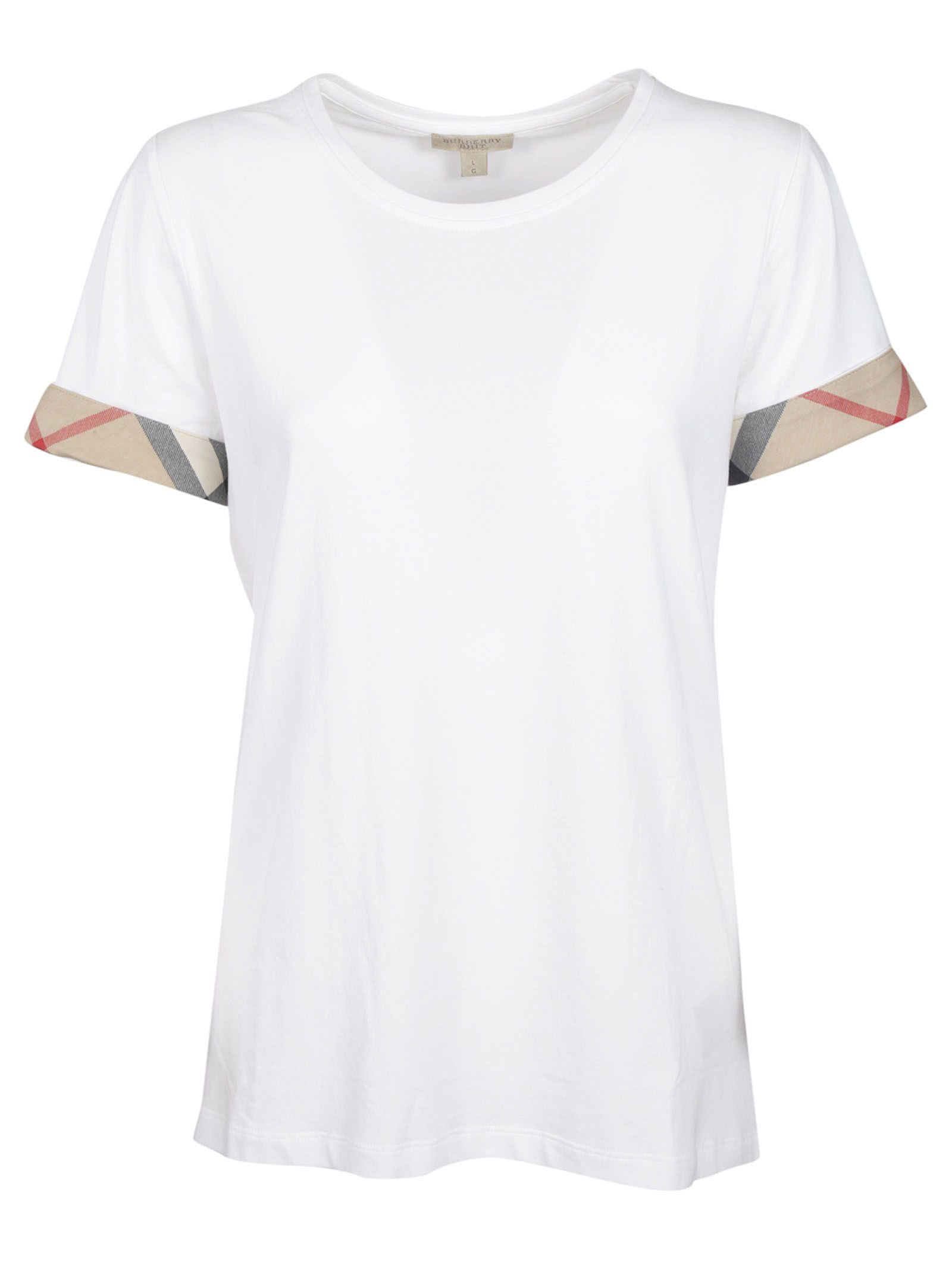 Burberry House Check Cuffs T-shirt