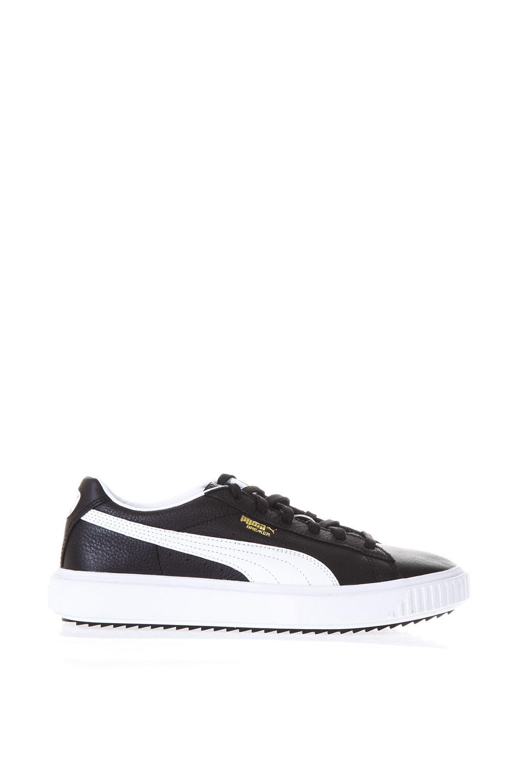 Puma Select Breaker Black Leather Sneakers