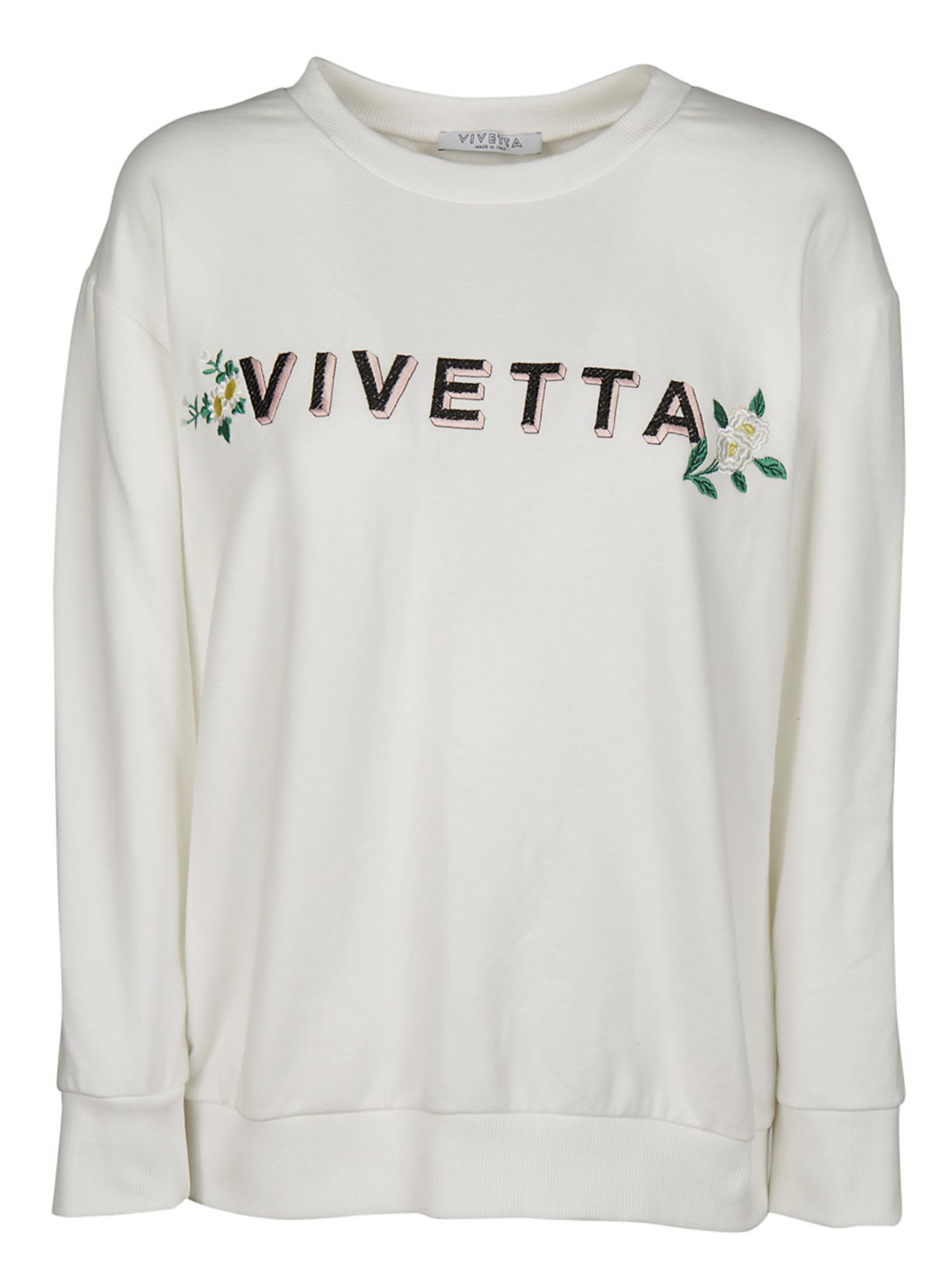 Vivetta Logo Embroidered Sweatshirt