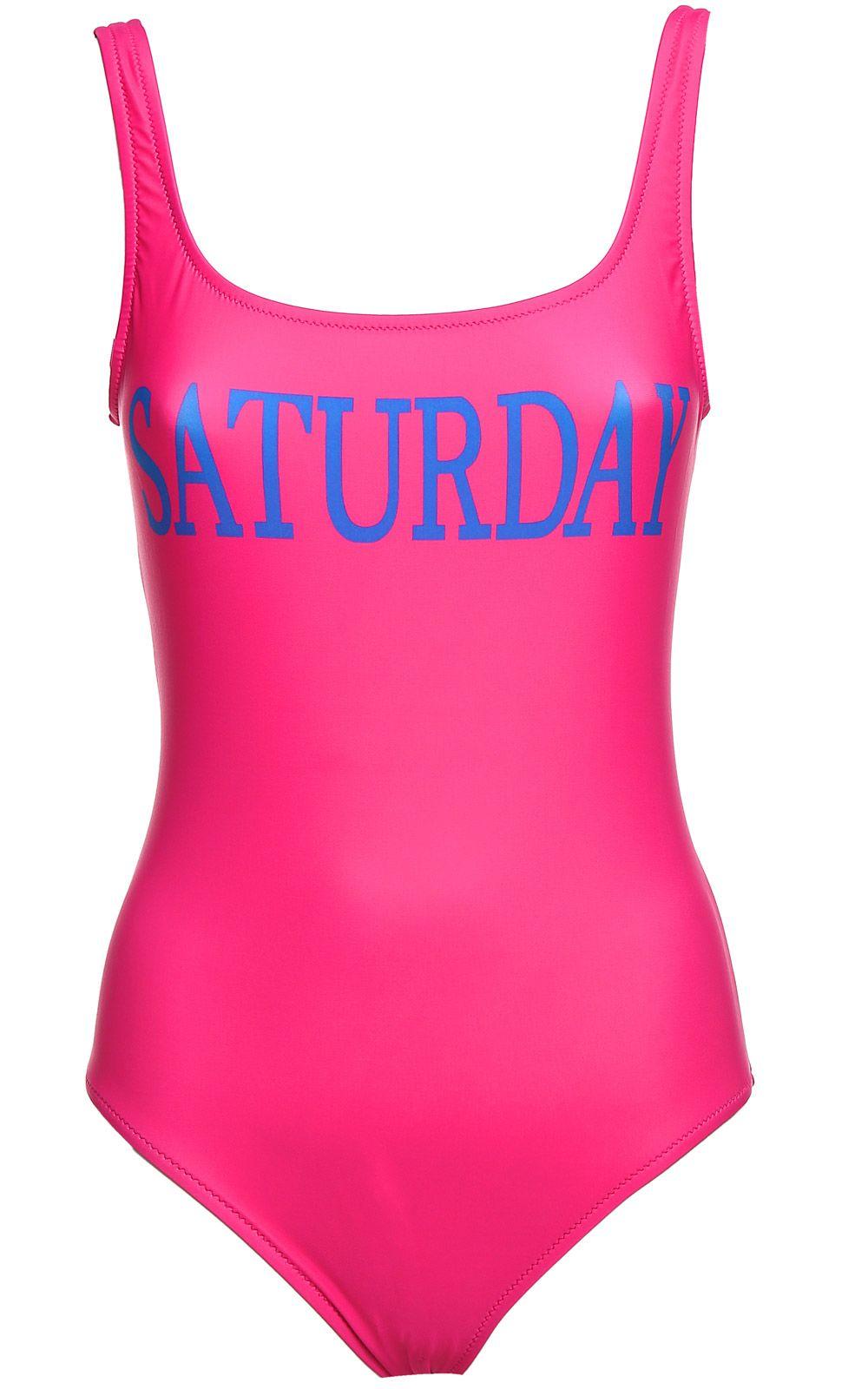 Alberta Ferretti Saturday Lycra Swimsuit
