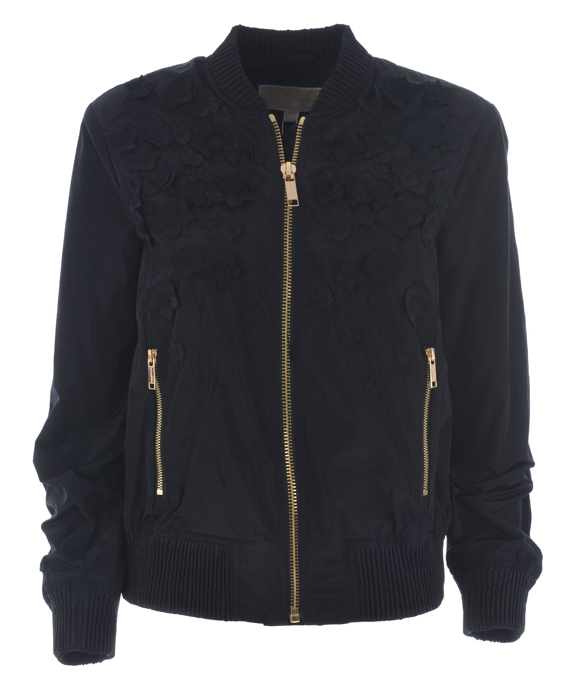 Michael Kors Embroidered Bomber Jacket