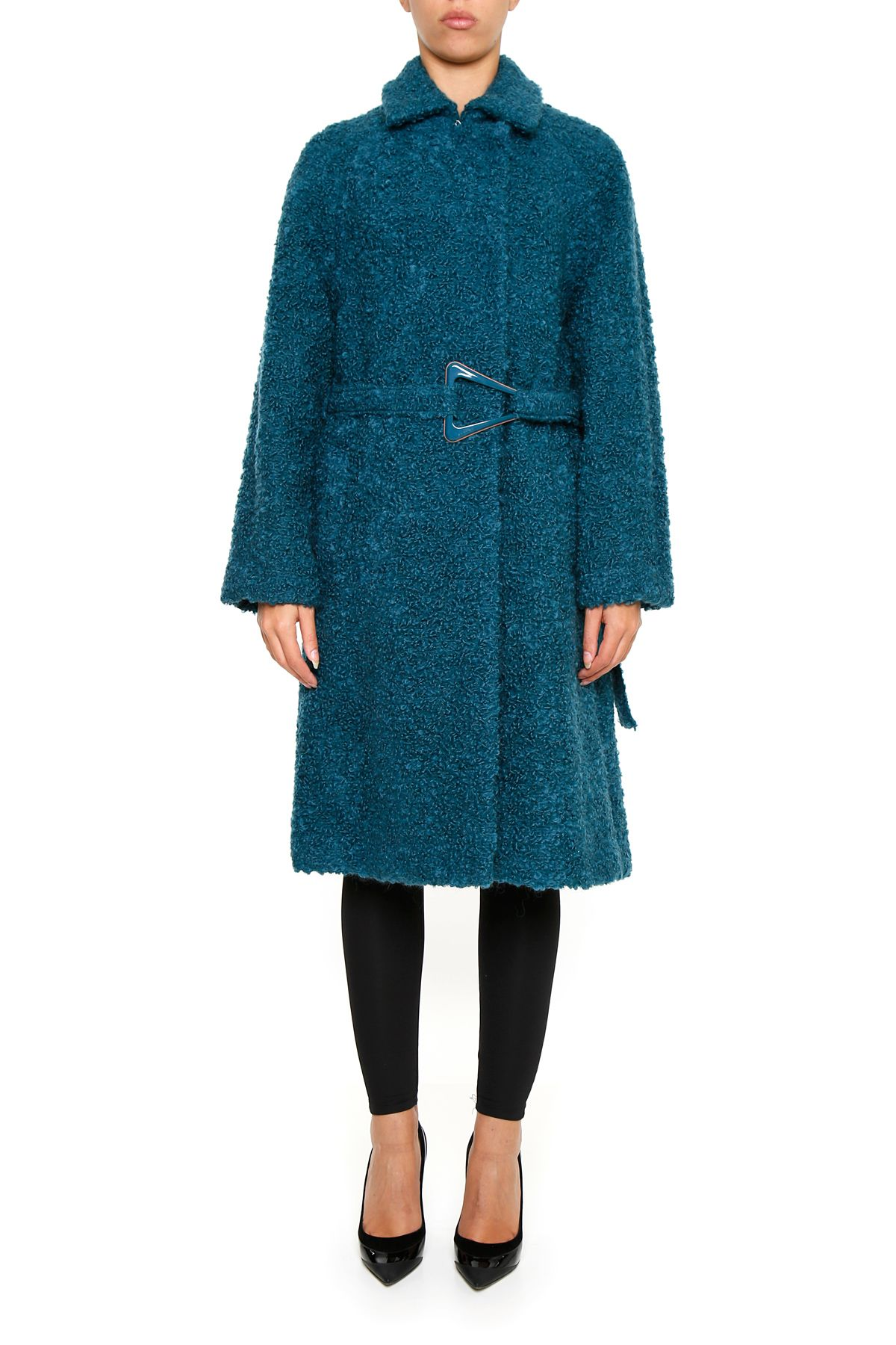 BELTED TEDDY COAT