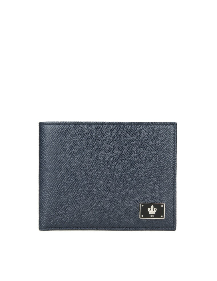 Dolce & Gabbana Leather Wallet Blue