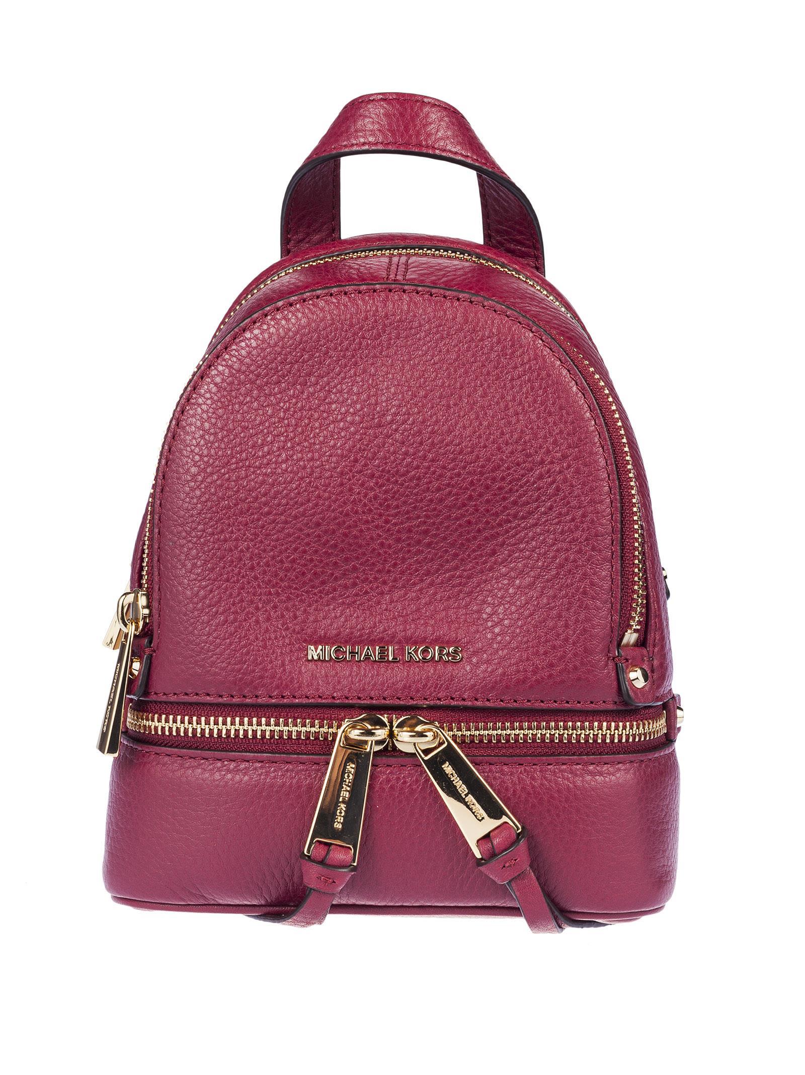Michael Kors Mini Rhea Backpack