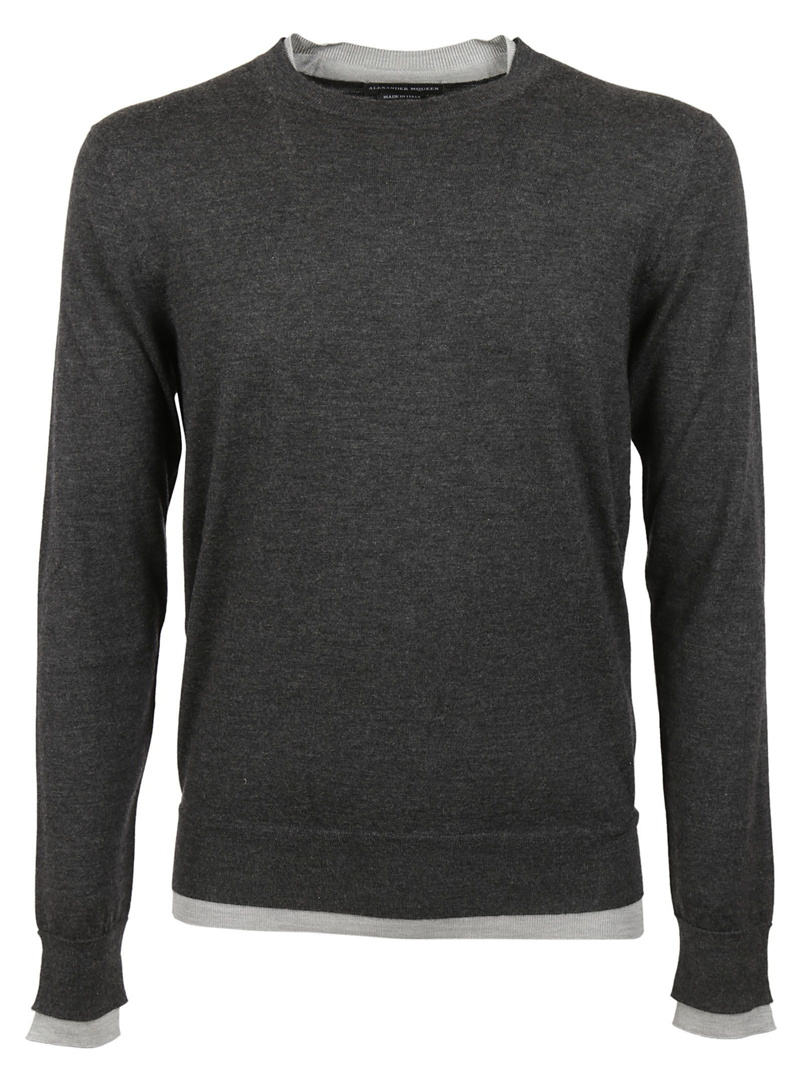 Alexander McQueen Fine Knit Detail Sweater
