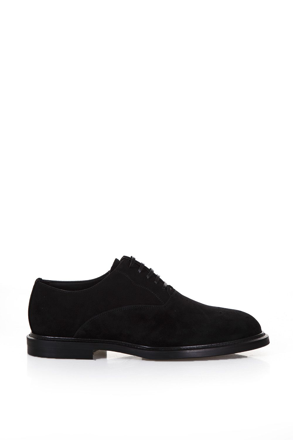 Dolce & Gabbana Brogue Suede Lace-up Shoes