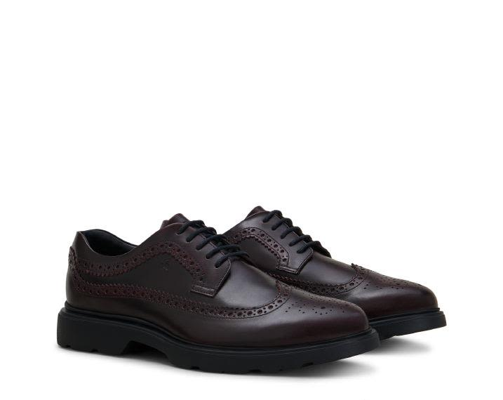 Hogan H304 NEW ROUTE DERBY BROGUE SHOES