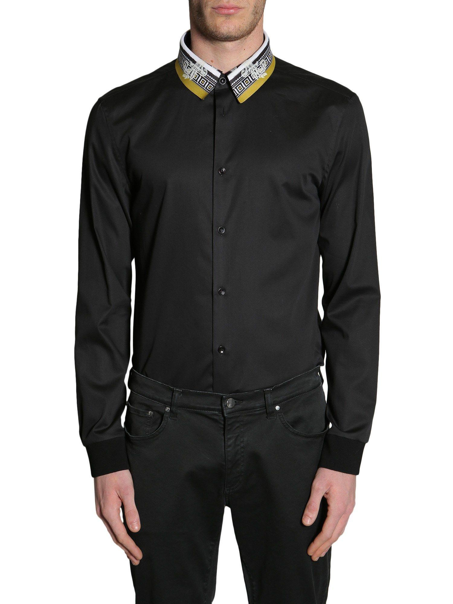 Printed Collar Shirt