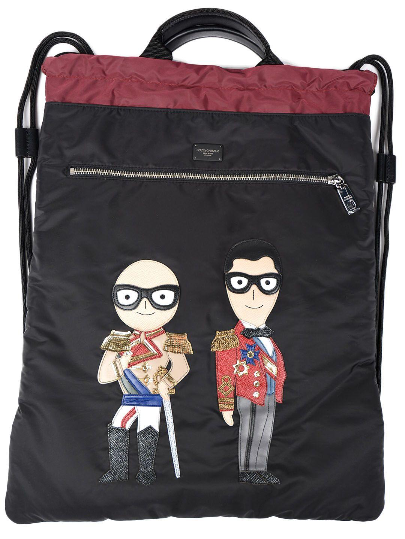 Dolce & Gabbana Dolce & Gabbana Designers Patch Backpack
